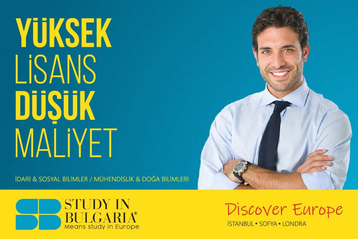 bulgaristan yüksek lisans