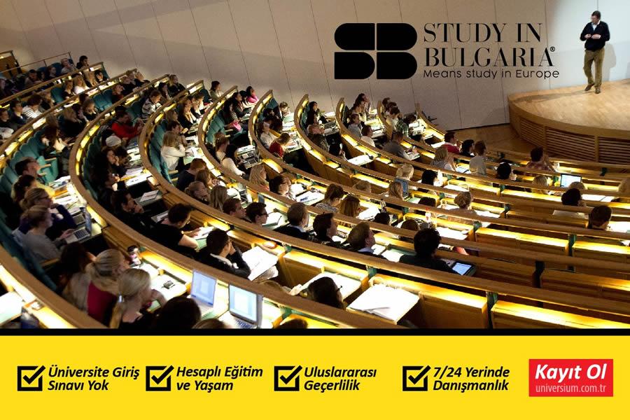 bulgaristan'da üniversite eğitimi